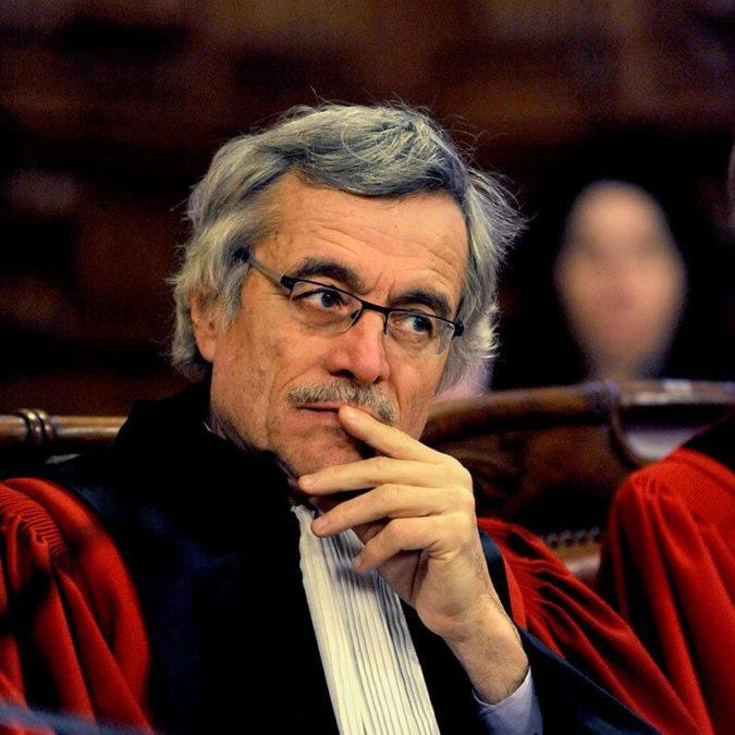 Un juge célèbre qui s'exprime librement
